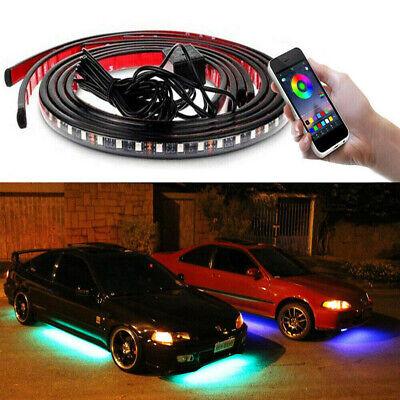 JDM RGB LED Underbody Car Neon Light Chassis Atmosphere Lamp Light APP Control