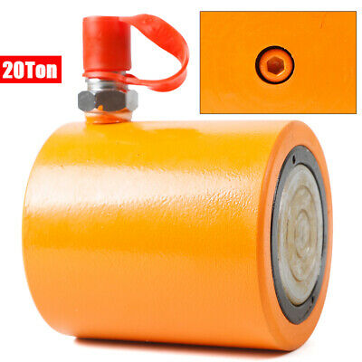 Heavy Duty 20 Tons 1 Stroke Hydraulic Cylinder Jack Ram Durable Low Height