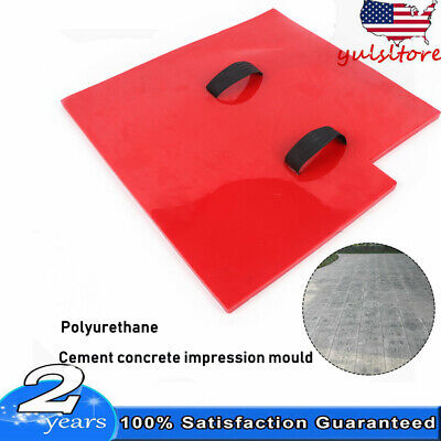 Slate Seamless Texture Stamps Mats Skin Concrete Cement Stamping Tool New