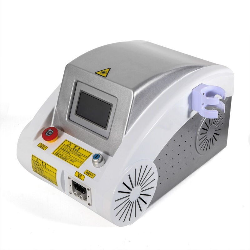 110V YAG Laser Eyebrow Tattoo Removal 532nm 1064nm Freckle Removal Machine New