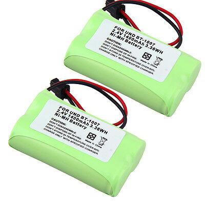 2x Cordless Home Phone Battery for Uniden BT1007 BT1015 BP904 HSCOC06 23-9096