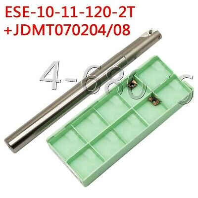 Ese-10-11-120-2t 2flute Small Diameter End Mill Jdmt0702 Cnc Carbide Inserts