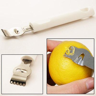 Lemon Zester Citrus Grater Stainless Steel Lime Zest Tool Artisan Fine Chef (Lime Zest)
