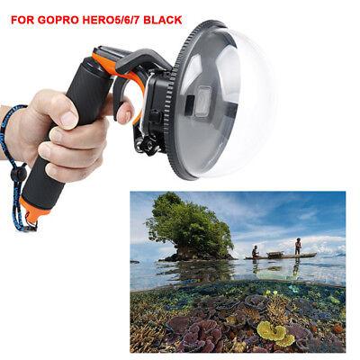 DE Unterwasser Tauchen Kamera Objektivdeckel Gehäuse Dome Port f/GoPro hero5 6 7