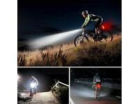 Front & Rear Bike Light Set - USB Rechargeable