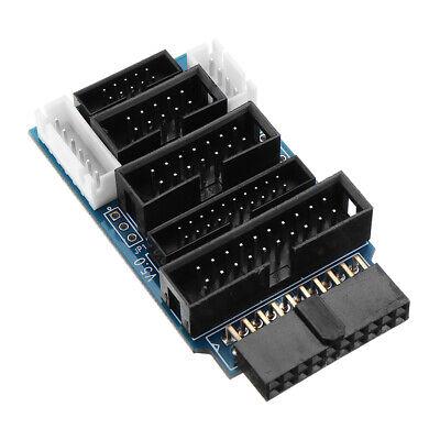 10pcs Multi-function Switching Board Adapter Support J-link V8 V9 Ulink 2