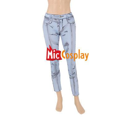 Cel Shaded Style Jeans Pants Manga Comic Cosplay Costume](Costume Comic)