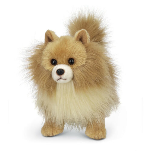 "New BEARINGTON Plush Toy POMERANIAN POMI Stuffed Animal PUPPY DOG 13"" Soft Doll"