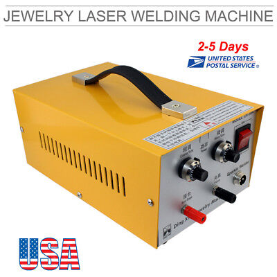 Pulse Sparkle Spot Welder Electric Jewelry Welding Machine Gold Silver 110v Usa