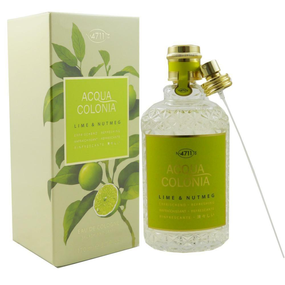 4711 Acqua Colonia 170 ml Eau de Cologne EDC - verschiedene Sorten  Lime  Nutmeg