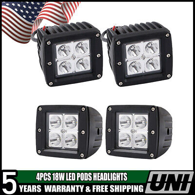 Bobcat LED Head Light Standard Taillight Exterior Light Kit Skid Steer Loader 4P