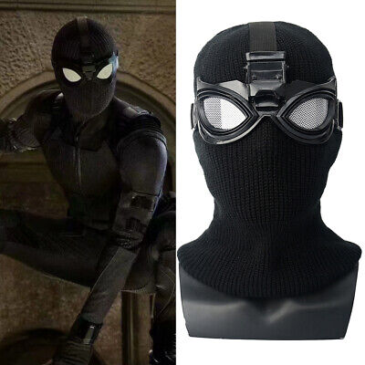 2019 Movie Spider-Man Far From Home Stealth Suit Cosplay Masks Glasses Halloween](Movie Masks Halloween)