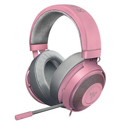 Razer Kraken Pro V2 Analog Gaming Headset for PC/Xbox One/PS4/Switch Quartz Pink