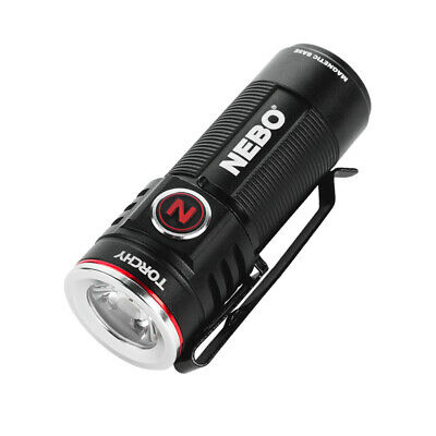 Nebo Torchy Rechargeable Flashlight 1000 Lumen Pocket Light with MagDock