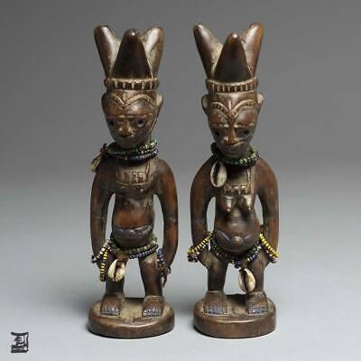 Yoruba Ibeji Twin Set   Fashor & Eagar African Art