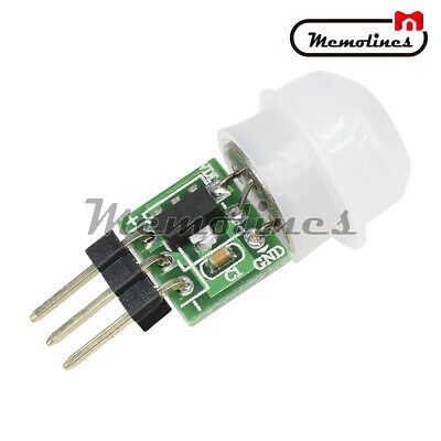 Mini Ir Infrared Pir Motion Human Sensor Module Dc 2.7-12v Body Detector Am312