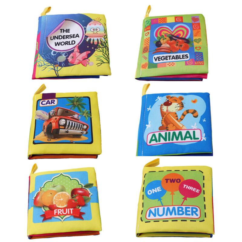 Intelligence Development Cloth Books Bed Cognize Baby Kids E