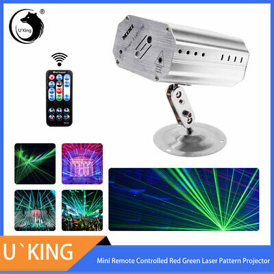 Mini Laser Pattern Projector Stage Light Strobe Party Show Xmas Birthday Lamp ()