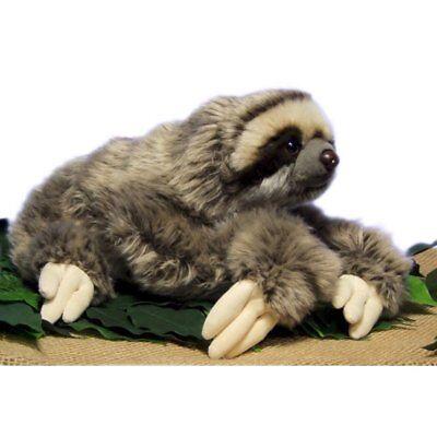 Very Soft Three Toed Sloth Plush Stuffed Animal Toy 12 5 Inch