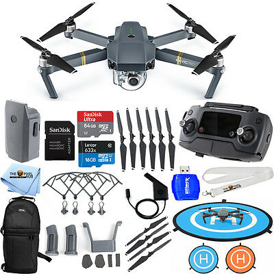 DJI Mavic Pro With 12MP / 4K Camera!! PRO MEGA READY TO FLY BUNDLE!! BRAND NEW!!