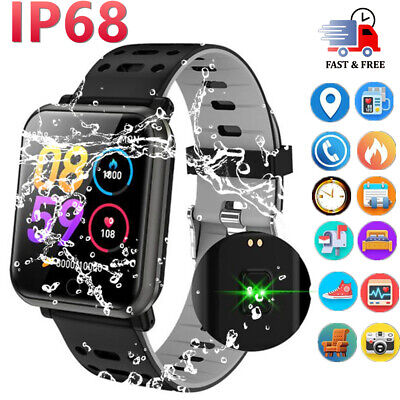 Smart Watch Blood Pressure Fitness Tracker Waterproof For HUAWEI iPhone Samsung