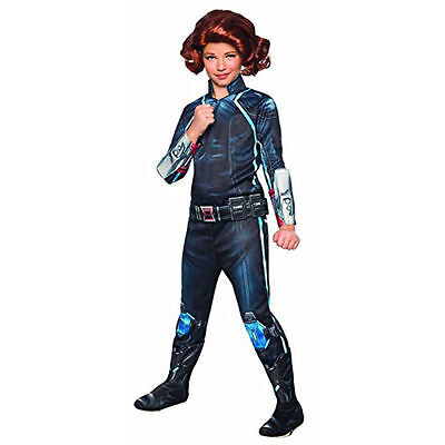 Rubie's Marvel Avengers 2 Age of Ultron Girls Child Deluxe Black Widow Costume