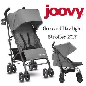 Used Joovy Groove Ultralight Stroller 2017, Grey Condtion: USED, Grey