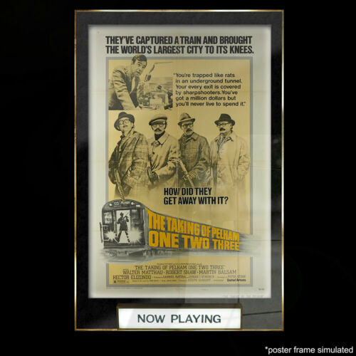 The Taking of Pelham One Two Three 1974  Style C Original Release Poster P00039