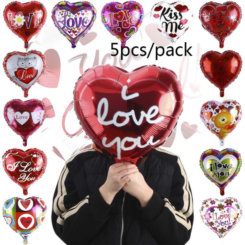 2pcs I LOVE YOU Hoja Globo día de San Valentín globos decoración ...