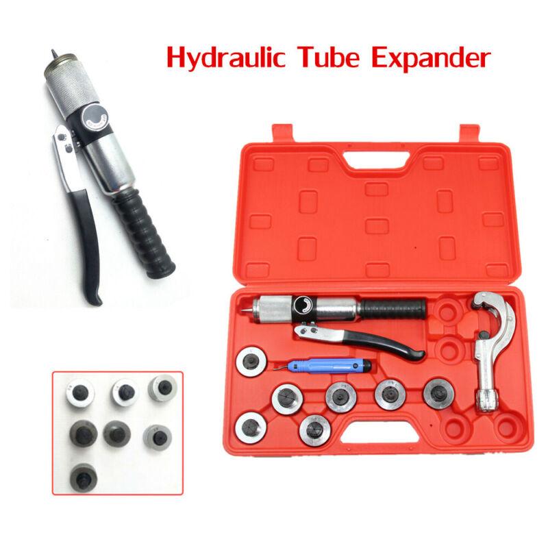 Manual Hydraulic Tube Expander 7 Lever Tubing Expanding Swaging HVAC Tool Set US