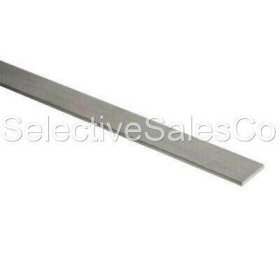 Stainless Steel Flat Bar Stock 18 X 1 X 6 Ft. Rectangular 304 Mill Finish