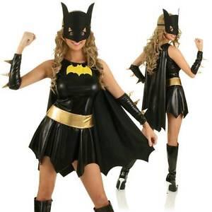 BATGIRL Ladies Superhero Costume Sz 14-16 BNWT FREE EXPRESS POST Madora Bay Mandurah Area Preview