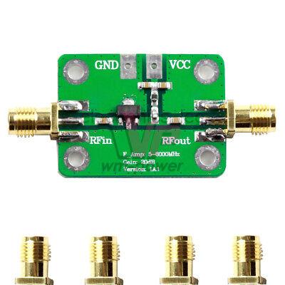 Rf Ultra-wideband Medium Power Amplifier Module 5m-6ghz 20db Converter