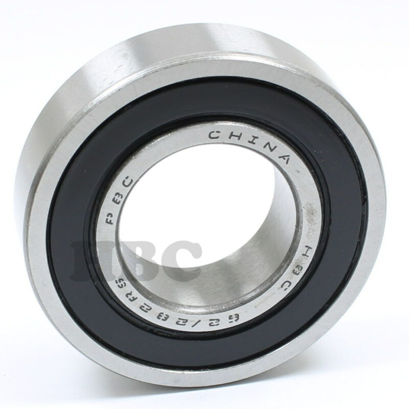 Ball Bearing HBC 62/28-2RS With 2 Rubber Seals 28x58x16mm