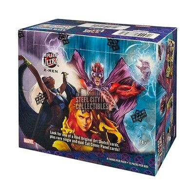2018 Upper Deck Fleer Ultra X-Men Hobby Box