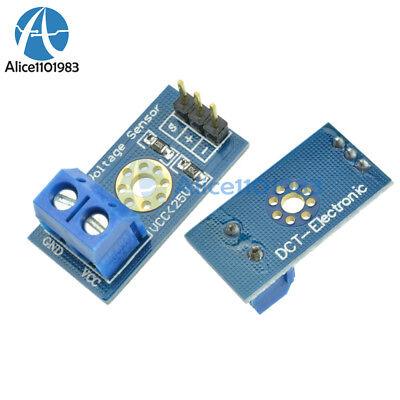 10pcs Standard Voltage Sensor Module For Robot Arduino Dc 0-25v