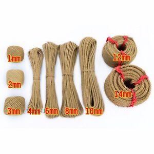10 metri iuta canapa lino corda fai da te lavori creativi for Lavori creativi fai da te