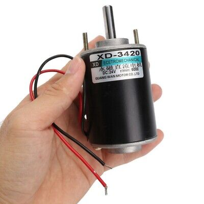 1pc Dc1224v Permanent Magnet Electric Motor High Speed Cwccw Control Generator