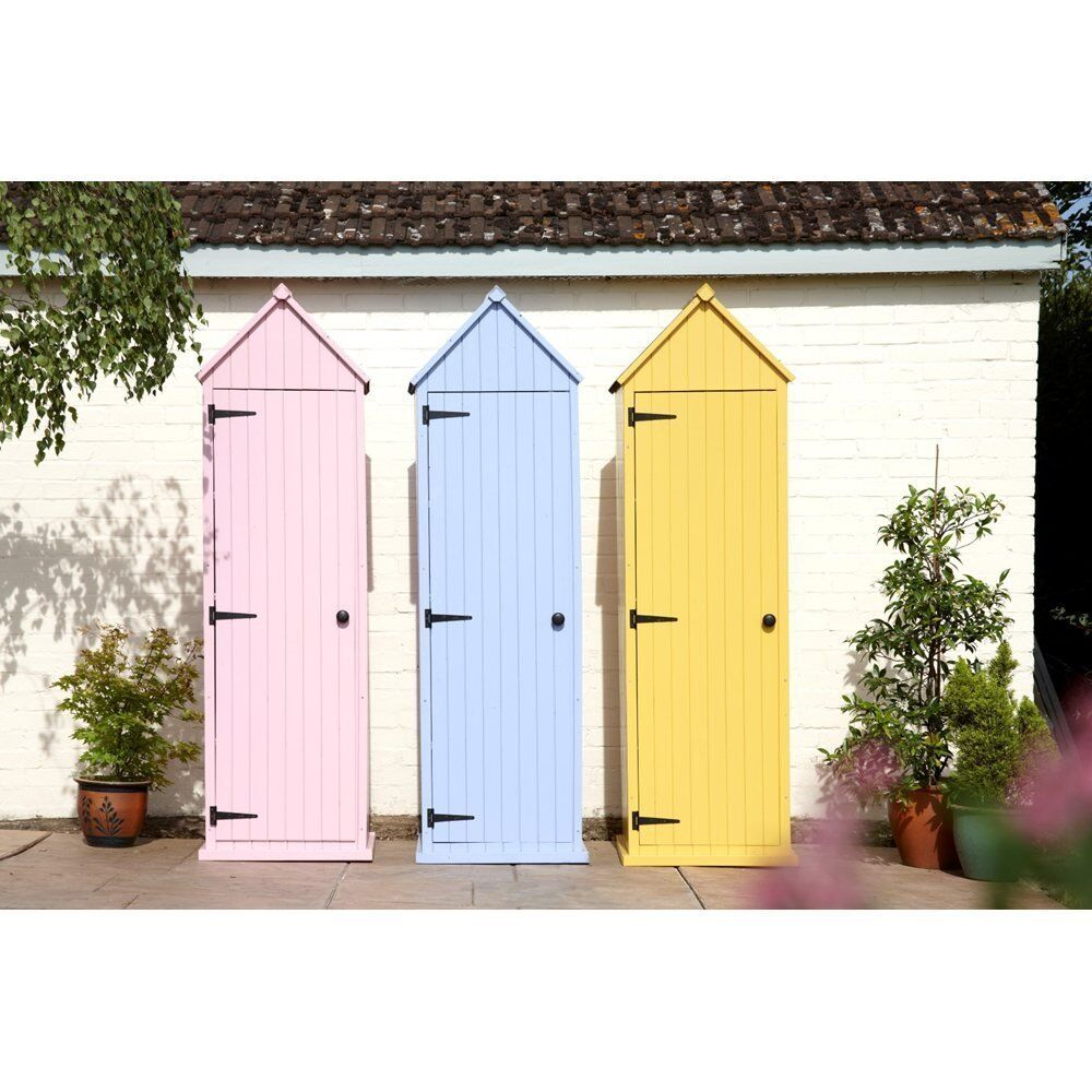 Garden Sheds Renfrewshire new brighton garden shed £120 delivered pastel yellow or pink (new