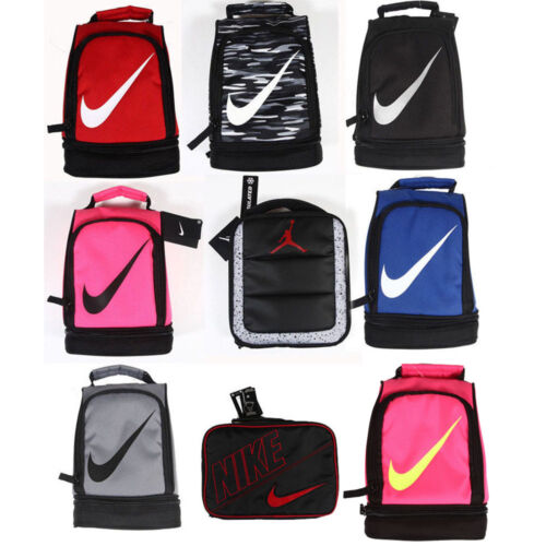 Nike lunch box bag lunch tote Nike two compartments Insulated Lunch Bag tote