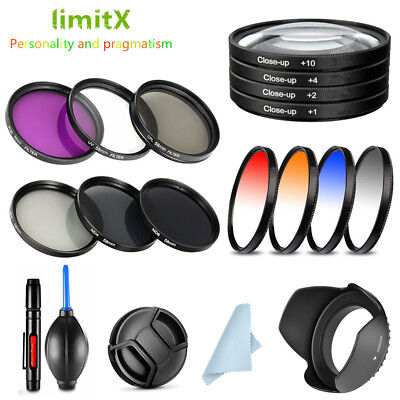 - 49mm Bundle Filter / Lens hood / Cap / cleaning pen / Blower for Canon Camera