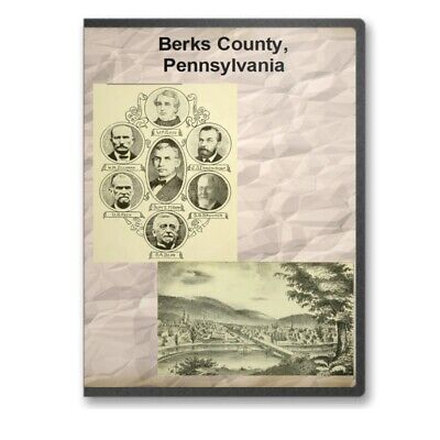 Berks County Pennsylvania PA History Culture Genealogy Indians 10 Books - D365