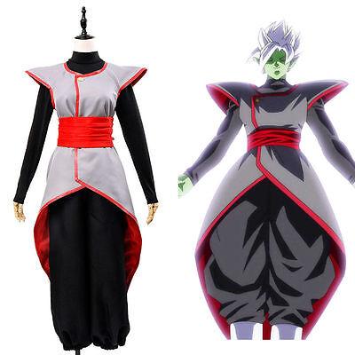 Dragon Ball Super Goku Black Zamasu Merged Potara Cosplay Halloween Costume - Halloween Goku Kostüm