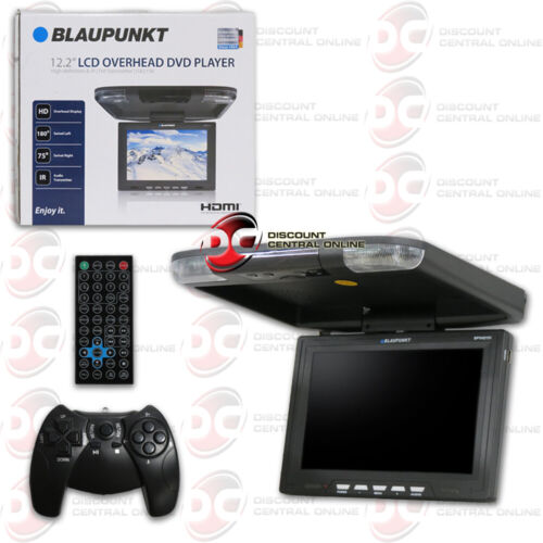 BLAUPUNKT 12.2 INCH OVERHEAD LCD MONITOR WITH DVD PLAYER & HDMI INPUT