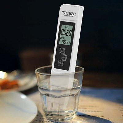 Digital Tds Ec Meter Water Quality Tester With 0 9990 Ppm Measurement Range