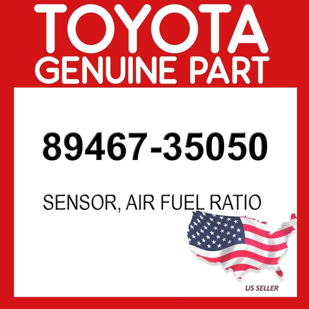 Genuine Toyota 89467-35050 Air and Fuel Ratio Sensor