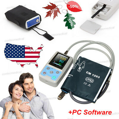 Us Seller Abpm50 24hour Ambulatory Blood Pressure Monitor Machine Fda Approved