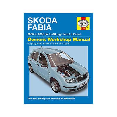 Skoda Fabia 1.2 1.4 Petrol 1.4 1.9 Diesel 00-06 (W to 06 Reg) Haynes Manual