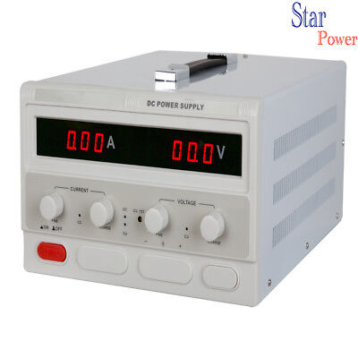 Adjustable Dc Power Supply 0-500v 0-10a With 4 Digital Dispaly Lab Grade