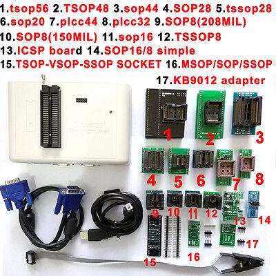 Rt809h Emmc-nand Flash Programmer Tsop56 Tsop48 Sop28 Sop8 Adapter Scoket
